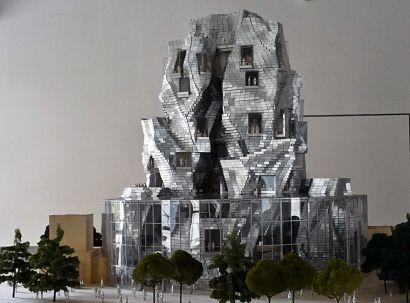 Frank Gehry, Maquette du bâtiment-ressource, Campus LUAM Arles