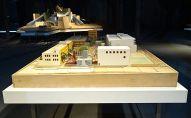 Solaris Chronicles - Frank Gehry, Loyola Law School (maquette 1), 1978-2003. Echelle 1:100. Bois, papier, mousse de polystyrène, carton. 300 x 2200 x 1500