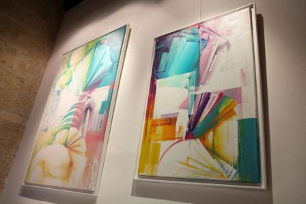 Zest à la Galerie At Down, 2014