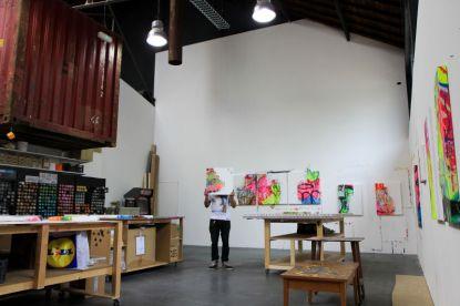 Tilt, atelier 2014, Photo Nicolas Pinelli