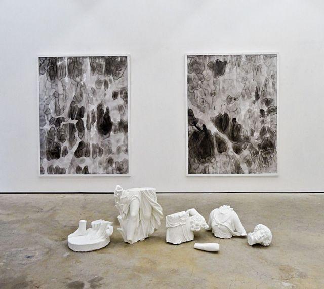 Timothée Talard, Tentative de Monochrome, 2014. Galerie Gourvennec Ogor à Marseille