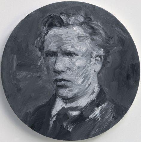 Yan Pei-Ming, Vincent van Gogh (1872), 2014