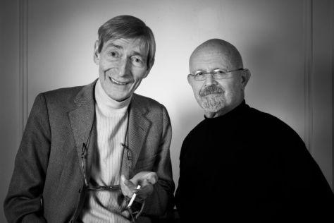 Aldo Crommenynck chez Jim Dine à Paris, 2007 © David Paul Carr/BnF