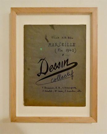 Dessins Collectifs Surréalistes - Musée Cantini, Marseille, 2014