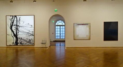 Musée Cantini, Marseille, vue de l'exposition Collections d'Art Moderne, RDC- grande salle - mur d'entrée_1
