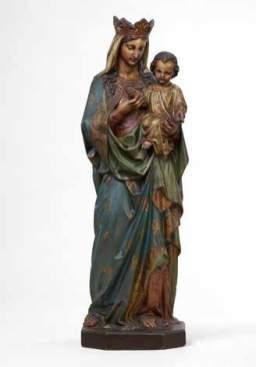 Notre Dame de Grâce, Raffl, Paris, première moitié du XXe siècle