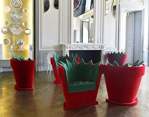 Pop Art Design - Fauteuils Pot de fleurs