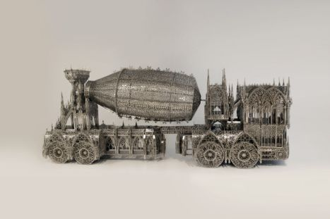 Wim DELVOYE, Cement Truck. Courtesy Galerie Perrotin, Paris Photo : Tim Perceval