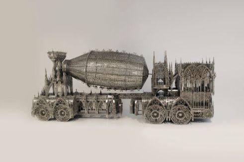 Wim DELVOYE, Cement Truck. Courtesy Galerie Perrotin, Paris Photo : Tim Perceval