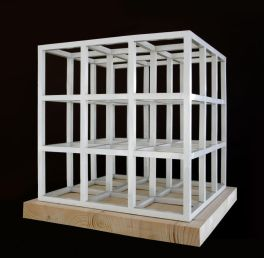 Sol LeWitt, Cube 3x3x3, 1979. Collection privée Photo : Tim Perceval