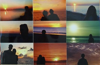 Penelope Umbrico, (« Sunset Portraits from 27,7000,711 Sunset Pictures on Flickr on May 4, 2015 » - detail
