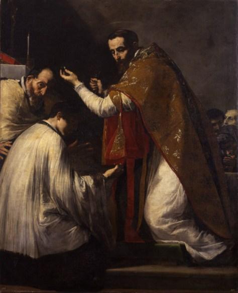 Jusepe de Ribera, Le Miracle de saint Donat d'Arezzo, 1652, huile sur toile, 191 x 155 cm, Amiens, musée de Picardie, Photo © Marc Jeanneteau
