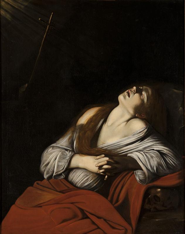 Louis Finson, Madeleine en extase, avant 1613