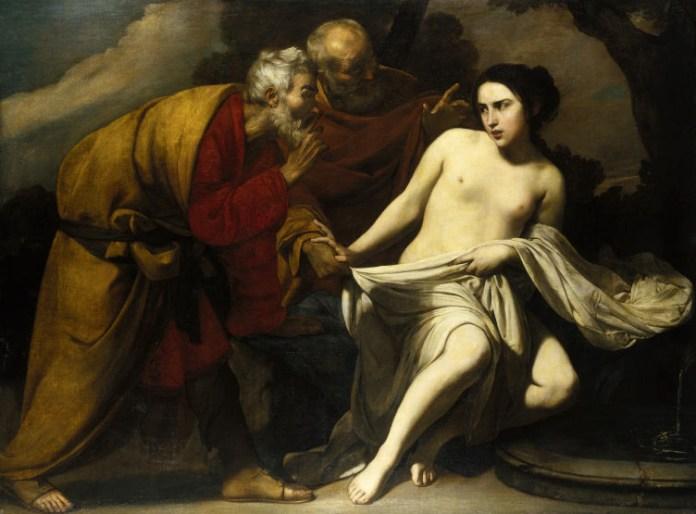 Massimo Stanzione, Suzanne et les vieillards, vers 1630- 1635