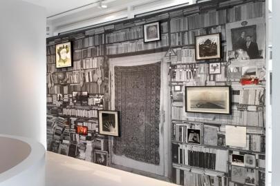 Deborah Schamoni, Véronique Bourgoin, Vue d'exposition Extented place (Setareh Gallery, Dusseldorf)
