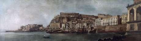 Vue de Santa Lucia a Naples, 1810 © A