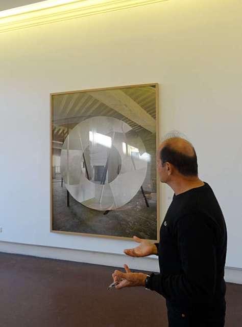 Georges Rousse, Chambord,2011 - « Collectionneur d'espaces » à Campredon