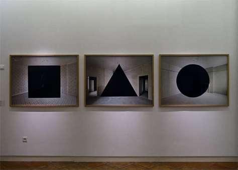 Georges Rousse, Guise (1, 2 et 3), 2015 - « Collectionneur d'espaces » à Campredon