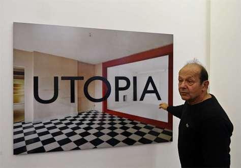 Georges Rousse, Utopia 5A,2015 - « Collectionneur d'espaces » à Campredon