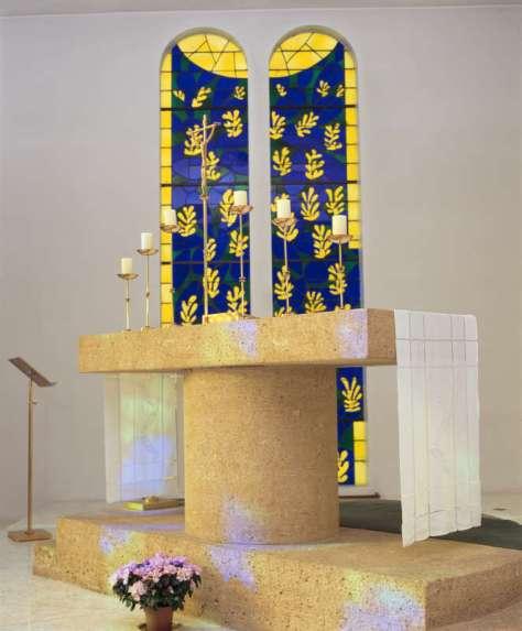 Andres Serrano,Matisse Chapel, 2015. Collection Lambert