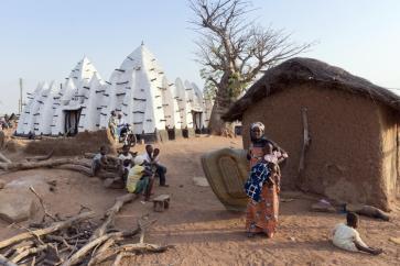 Iwan Baan, 52 weeks, 52 cities, Larabanga, Nord Ghana ©Iwan BAAN