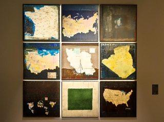 Hellal Zoubir, Map Monde, 2003 - Made in Algeria au MuCEM