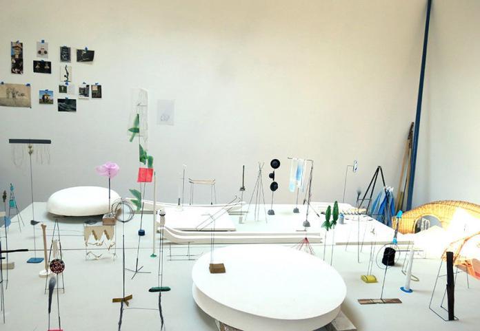 Joëlle Gay, Stanza, 2015 - Vue d'atelier, 2015