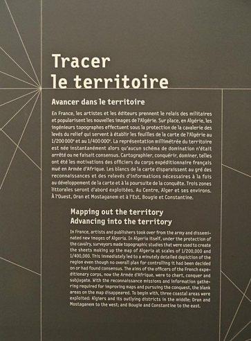 Made in Algeria au MuCEM - Signaletique - Texte de salle