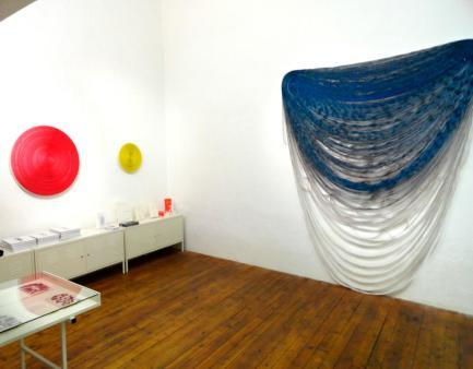Patrice Barthès Size Of the Distance - Galerie ALMA, vue de l'exposition