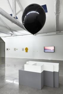Perrine Lievens, Distance variable, 2007 - 2009 Walid Raad, I Only Wish That I Could Weep, 2001- Se souvenir des Belles Choses, vue de l'exposition, Musée régional d'art contemporain, Sérignan, 2016. Photo JC Lett