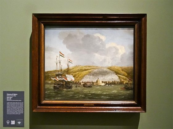 Reiner Nooms, Shipping off Algiers, 1662-1668 - Made in Algeria au MuCEM