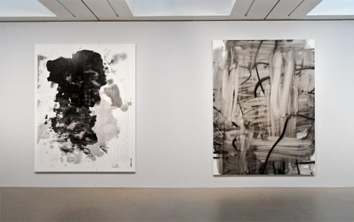 Christopher Wool, Sans titre, 2011 et Sans titre, 2007 - Très traits à la Fondation Vincent Van Gogh Arles