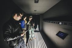 Collectif Scale, Terminal, Installation, Paris Musique Club à la Gaîté Lyrique 2015 © Teddy Morellec - La Clef