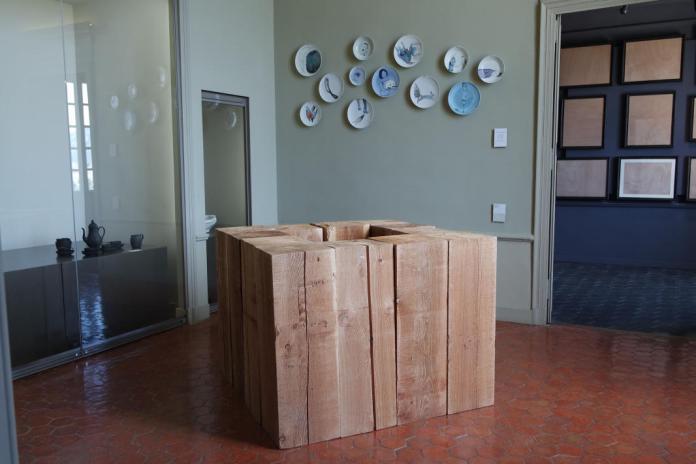 Carl André, Four Hollow Square, 2009. Collection Francis Solet - Chateau Borély, Marseille - Les Possédés - chapitre 1 au Château Borély, Marseille