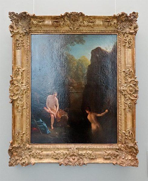 Jean Raoux, Diane au bain (1721) - Musée Fabre Nouvelles Acquisitions