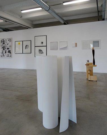 Les Possédés - Chapitre 2 - Mara Fortunatović : Rariores Silvae, 2014, aluminium peint. Collection particulière