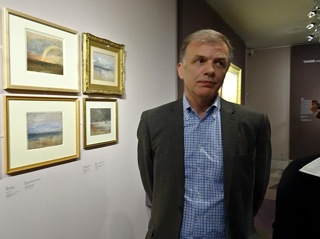 Turner et la couleur à l'Hôtel de Caumont – Aix-en-Provence - Ian Warrell, commissaire de l'exposition