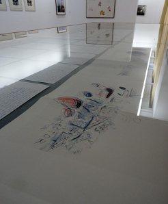 Cy Twombly - Un nouveau regard à la Collection Lambert - Vue de l'exposition 02