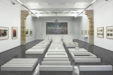 Superstudio au FRAC Languedoc-Roussillon - Vue de l'exposition - Photo_Pierre_Schwartz