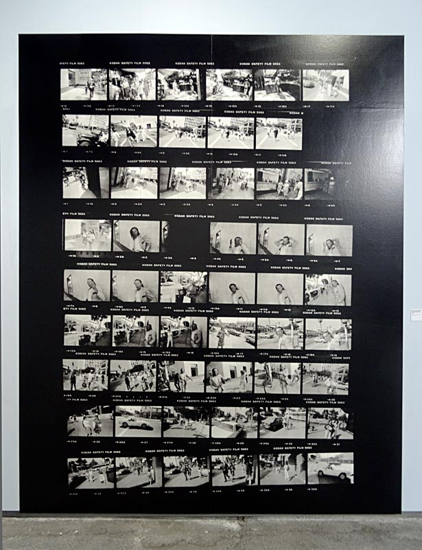 Ethan Levitas - Garry Winogrand, Radical Relation - Arles 2016 - Ethan Levitas, Photographs in 3 Acts - Garry Winogrand, Planches contact