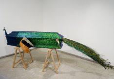 Jan Fabre, Stillife with artist (Nature morte avec artiste), 2004 02 - Vanités à la Maison des Consuls – Les Matelles, Grand Pic Saint-Loup