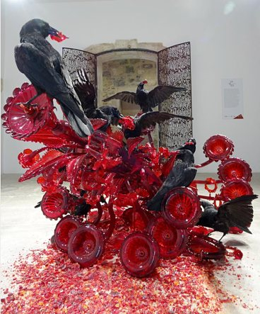 Javier Pérez, Carroña (Charogne), 2011 - Vanités à la Maison des Consuls – Les Matelles, Grand Pic Saint-Loup