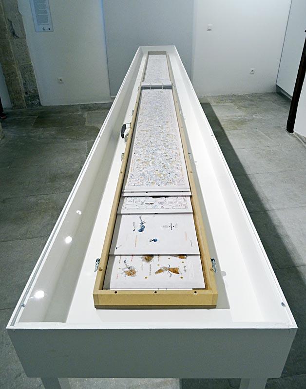 Philippe Favier, Le Grand Livre, 2009 - Vanités à la Maison des Consuls – Les Matelles, Grand Pic Saint-Loup