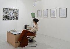 Ethall, Barcelone - Paréidolie 2016 - vue de l'exposition