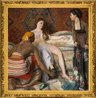 Frédéric Bazille, La Toilette, 1870. Huile sur toile Don Marc Bazille, frère de l'auteur, 1918 Inv. : 18.1.2