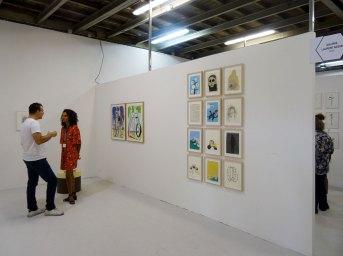 Galerie Laurent Godin, Paris - Paréidolie 2016 - vue de l'exposition