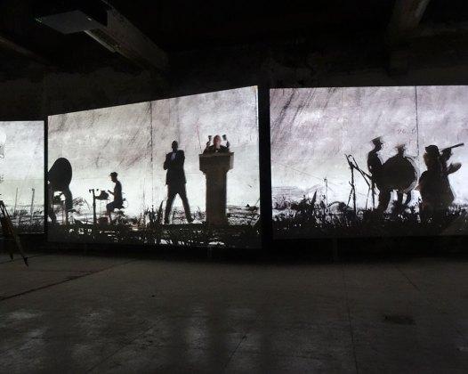 William Kentridge - More Sweetly Play the Dance – Arles 2016 - Fondation Luma - La Formation au Parc des Ateliers