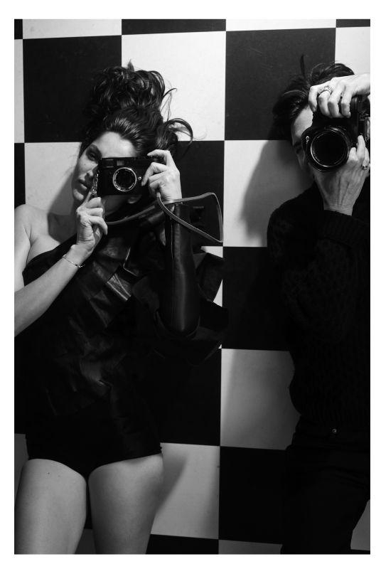 Collier Schorr Laetitia with Leica, 2016 © Collier Schorr, courtesy 303 Gallery, New York