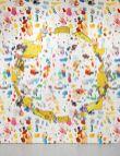 Urs Fischer, mousecheesecircle, Mixing Palette #1 et Mixing Palette #2 2016 Aluminium, époxy, acier, apprêt acrylique, enduit, encre acrylique, médium acrylique pour sérigraphie, peinture acrylique 212.5 × 231.8 × 1 cm EA d'une édition de 2 & 1 EA Collection privée et Impression de papier peint à jet d'encre sur papier renforcé au nylon Dimensions variables Édition illimitée Avec l'aimable autorisation de l'artiste et de la Gagosian Gallery Crédit photo : Robert McKeever
