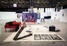 Crèvecoeur Gallery, Paris, avec Julien Carreyn, Than Hussein Clark, Renaud Jerez, Adriana Minoliti, and Jorge Pedro Núñez Winner of the 2016 Roger Pailhas Prize (ART-O-RAMA best booth prize awarded by the guest collectors) ART-O-RAMA 2016, Marseille ©jcLett
